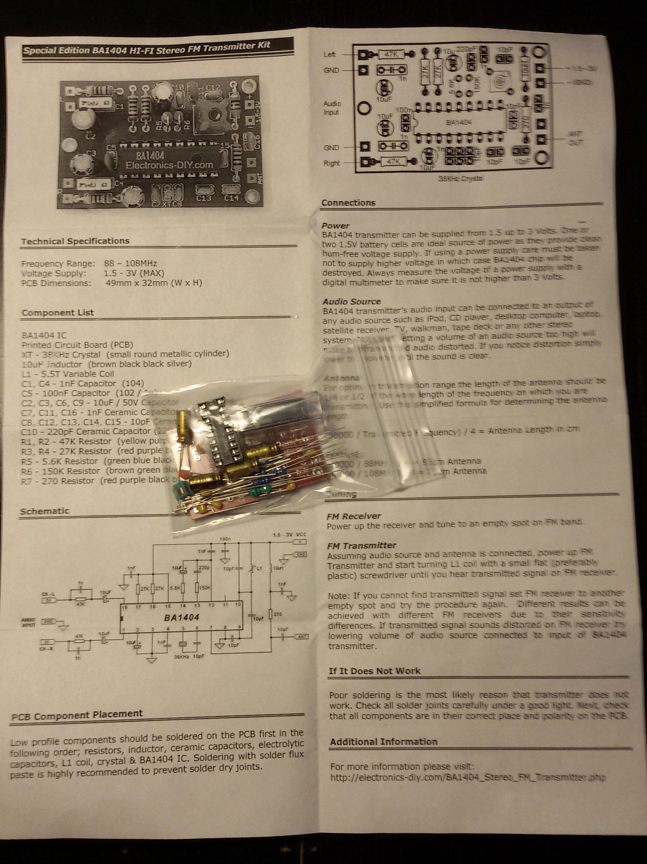 Schema Collegamento Xlr : Trasmettitore fm stereo 2 pier giuseppe barbonaglia